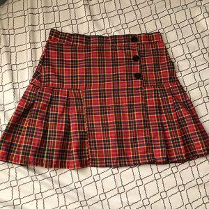 O-MIGHTY Plaid Skirt